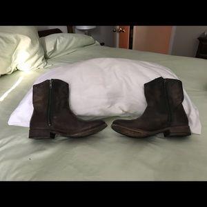 Women's Frye Melissa Button Boots-short